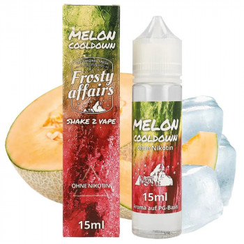 Melon Cooldown 15ml Longfill Aroma by Frosty Affairs