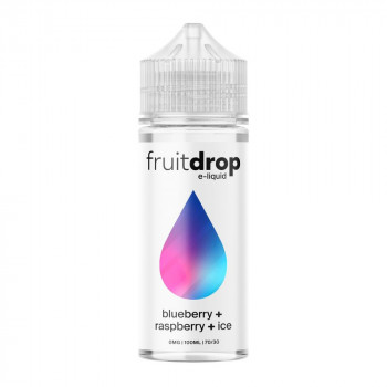 Fruit Drop - Blueberry, Raspberry, ICE 100ml Shortfill Liquid by Drop E-Liquid