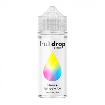 Fruit Drop - Citrus, Lychee, ICE 100ml Shortfill Liquid by Drop E-Liquid