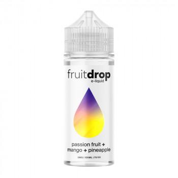 Fruit Drop - Passion Fruit, Mango, Pineapple 100ml Shortfill Liquid by Drop E-Liquid