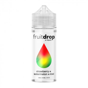 Fruit Drop - Strawberry, Watermelon, Kiwi 100ml Shortfill Liquid by Drop E-Liquid