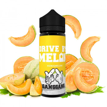 Drive by Melon 100ml Shortfill Liquid by #GangGang