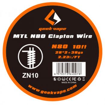 GeekVape MTL N80 Clapton Wire Draht