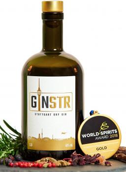 GINSTR Stuttgart Dry Gin 44%Vol. 500ml