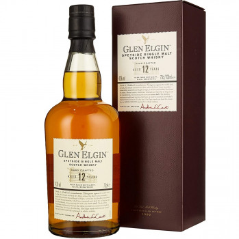 Glen Elgin 12 Jahre Speyside Single Malt Scotch Whisky 43% Vol. 700ml