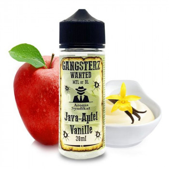 Java-Apfel Vanille 30ml Longfill Aroma by Gangsterz