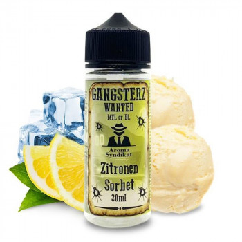 Zitronen Sorbet 30ml Longfill Aroma by Gangsterz