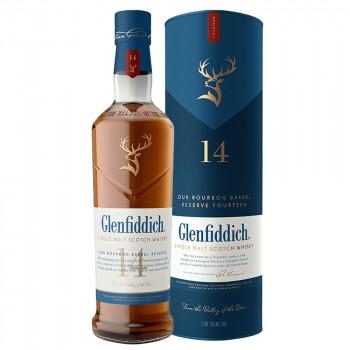 Glenfiddich Single Malt Scotch Whisky 14 Jahre 43% Vol. 700ml