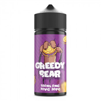 Bloated Blueberry 100ml Shortfill Liquid by Greedy Bear