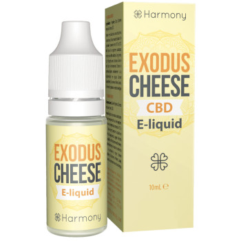 Exodus Cheese 10ml CBD Liquid by Harmony