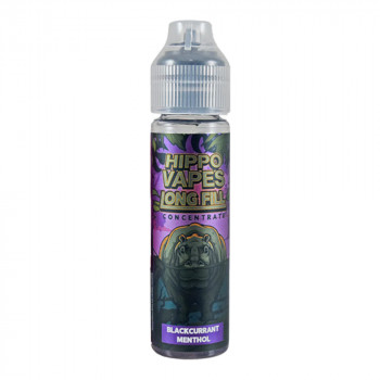 Blackcurrant Menthol 30ml Longfill Aroma by Hippo Vapes