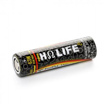 HohmTech Life4 18650 - 3015mAh, 3,6V - 3,7V Flat Top 31,5A ungeschützt
