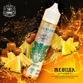 Medusa (50ml) Plus e Liquid by Illusion Vapor MHD Ware