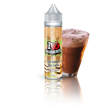 Cardamom Chai Latte (50ml) Plus e Liquid by I VG Desserts