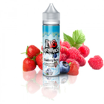 Blueberg Burst (50ml) Plus e Liquid by I VG Menthol