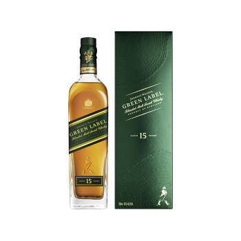 Johnnie Walker Green Label Blended Scotch Whisky 43% Vol. 700ml