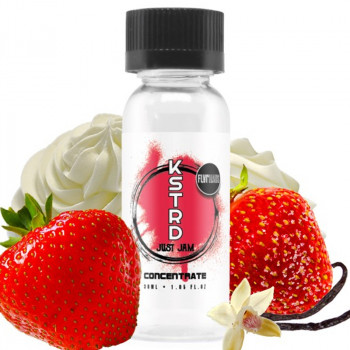 Vanilla Custard & Strawberry Jam 30ml Aroma by Just Jam X KSTRD
