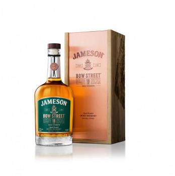 Jameson Bow Street Cask Strength Whiskey 18 Jahre – Blended Irish Whiskey 55,3% Vol. 700ml