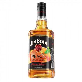 Jim Beam Peach - Bourbon Whiskey mit Pfirsich-Likör 32,5% Vol. 700ml