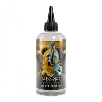 Summer Fruit Ice Berserker Blood Axe 200ml Shortfill Liquid by Joe's Juice