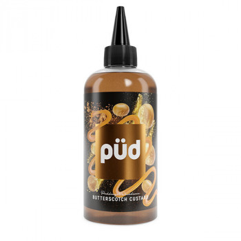 Butterscotch Custard 200ml Shortfill Liquid by Joe's Juice Pudding & Decadence