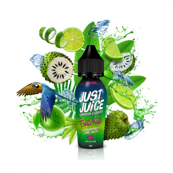 Guanabana & Lime on ICE 50ml Shortfill Liquid by Just Juice