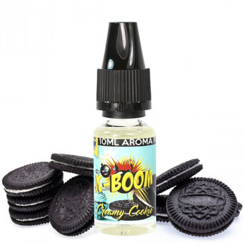 K-Boom Premium Aroma 10ml / Creamy Cookie