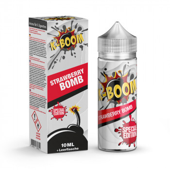 Strawberry Bomb Special Edition 10ml Aroma by K-Boom