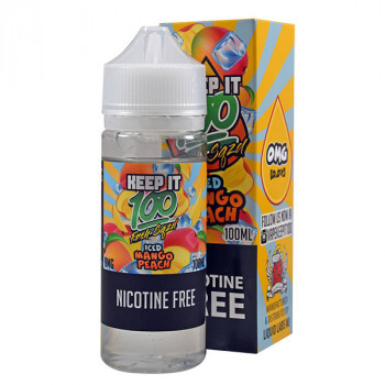 Frsh Sqzd Iced Mango Peach 100ml Shortfill Liquid by Keep it 100