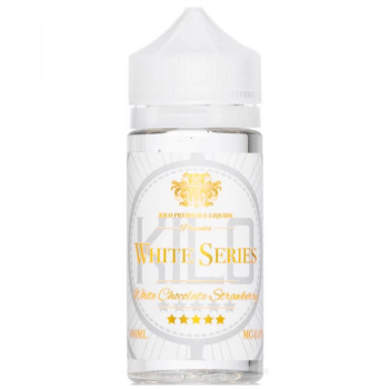 White Chocolate Strawberry 100ml Shortfill Liquid by Kilo White Series