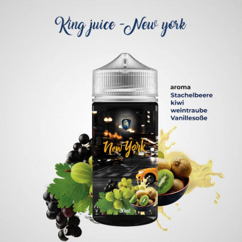 New York 20ml Longfill Aroma by King Juice