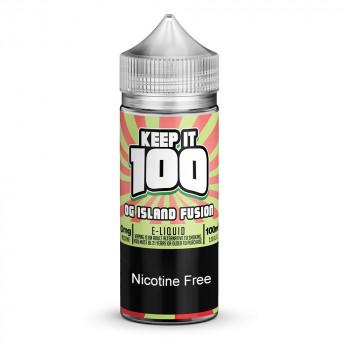 OG Island Fusion 100ml Shortfill Liquid by Keep it 100