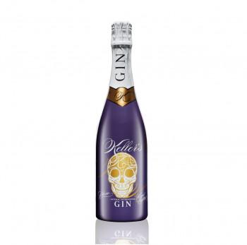 Keller's Plum Distilled Gin vielseitiger Premium Gin aus 66 Botanicals mit fruchtiger Pflaume 35% - 700ml