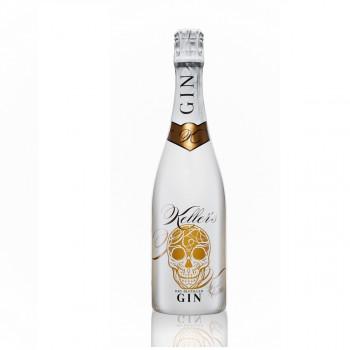 Keller's Dry Distilled Gin vielseitiger Premium Gin aus 66 Botanicals 35% - 700ml