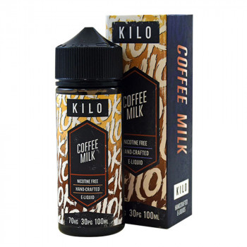 Coffee Milk 100ml Shortfill Liquid by Kilo New Series