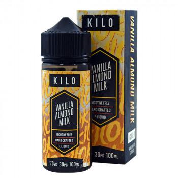 Vanilla Allmond Milk 100ml Shortfill Liquid by Kilo New Series