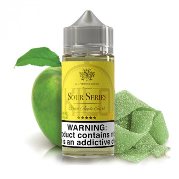 Green Apple Sours 100ml Shortfill Liquid by Kilo