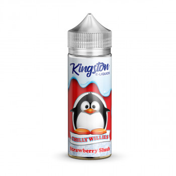 Strawberry Slush 100ml Shortfill Liquid by Kingston Chilly Willies