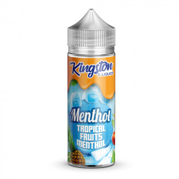 Tropical Fruits Menthol 100ml Shortfill Liquid by Kingston