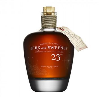 Kirk and Sweeney 23 Years Old Dark Rum 40% Vol. 700ml
