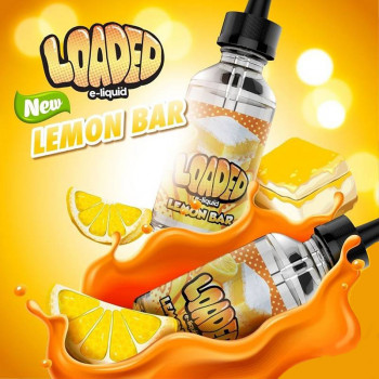 Lemon Bar (100ml) Plus e Liquid by Loaded