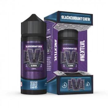 Blackcurrant Chew 100ml Shortfill Liquid by LVL