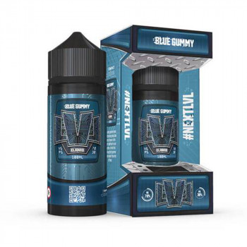 Blue Gummy 100ml Shortfill Liquid by LVL