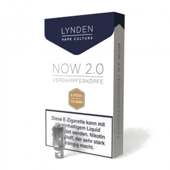 Lynden Now 2.0 Coil Serie 5er Pack Verdampferköpfe