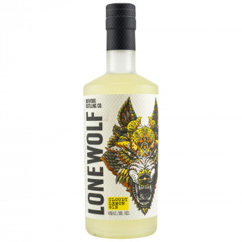 BrewDog LoneWolf Cloudy Lemon Gin 40% 700ml