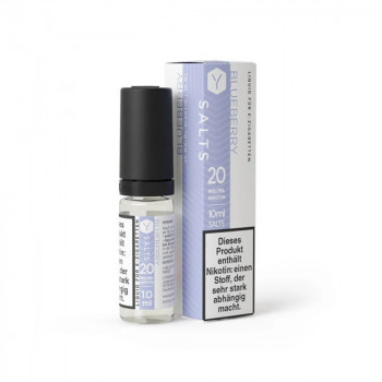 Blueberry 10ml 20mg Nic Salt Liquid by Lynden