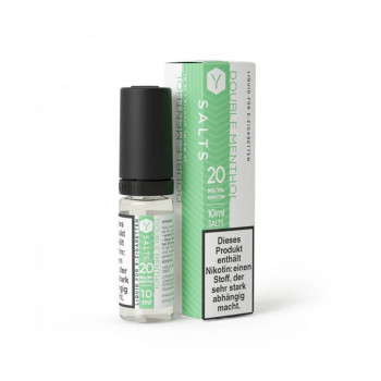 Double Menthol 10ml 20mg Nic Salt Liquid by Lynden