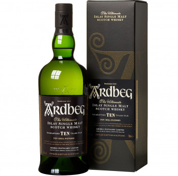 Ardbeg Islay Single Malt Scotch Whisky 10 Jahre 46% Vol. 700ml