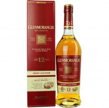 Glenmorangie Lasanta Sherry Cask Finish Single Malt Whisky 12 Jahre 43% Vol. 700ml