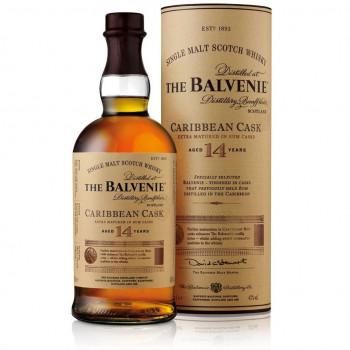 The Balvenie Carribean Cask Single Malt Scotch Whisky 14 Jahre 43% Vol. 700ml